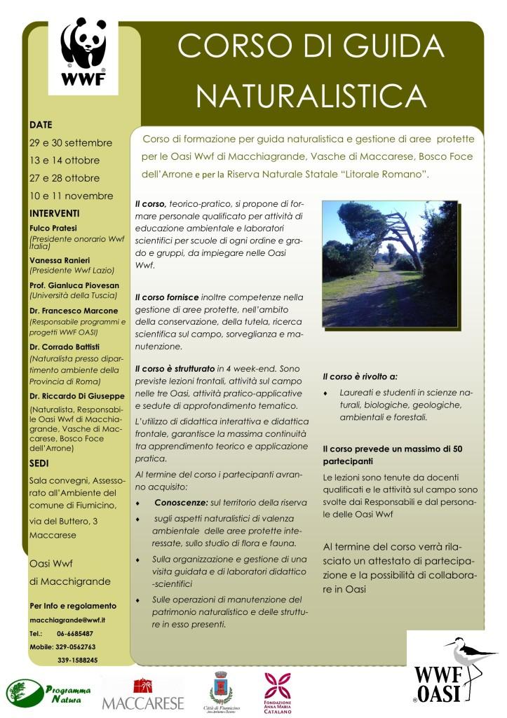 Corso Guida Natur.2012